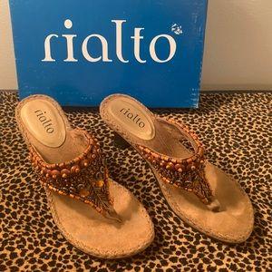 "Rialto ""Let It Bead"" V-Thong Sandals"